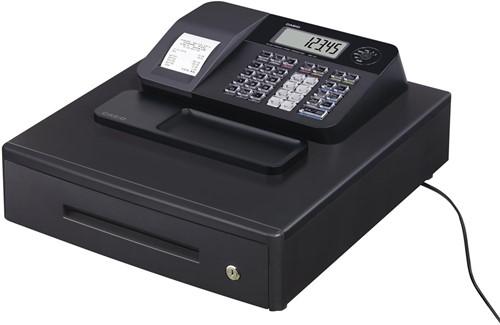 Casio thermische kasregister SE-G1, zwart, middelgrote   geldlade (8 munten, 4 biljetten)
