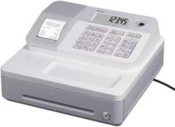 Casio Thermische Kasregister SE-G1, wit,                 standaard geldlade (5 munten, 3 biljetten)