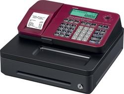 Casio thermische kasregister SE-S100SB, rood
