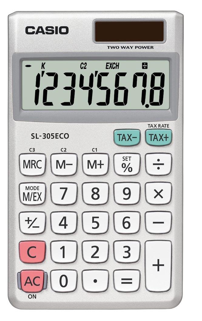 Rekenmachine Casio SL-305ECO