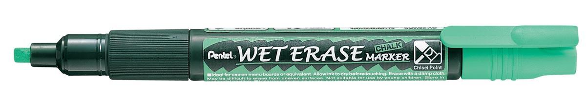 Pentel Wet Erase Marker groen, schrijfbreedte 2 - 4 mm