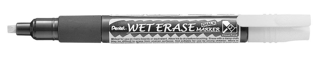 Pentel Wet Erase Marker wit, schrijfbreedte 2 - 4 mm
