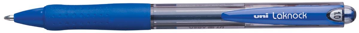 Uni-ball balpennen Laknock schrijfbreedte 0,4 mm, schrijfpunt: 1 mm, medium punt, blauw