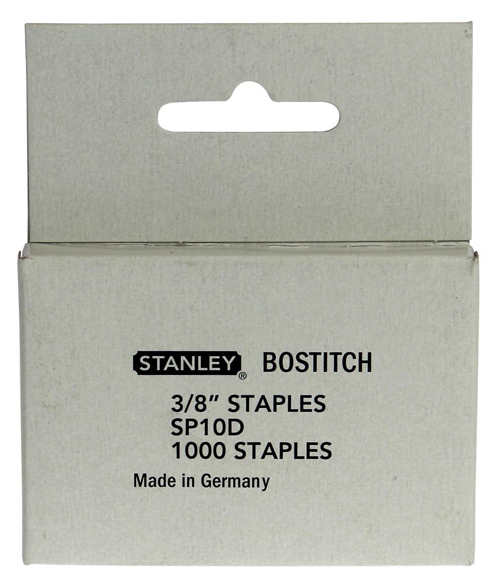 Bostitch Nietjes voor T10, 10 mm, doos van 1.000 nietjes