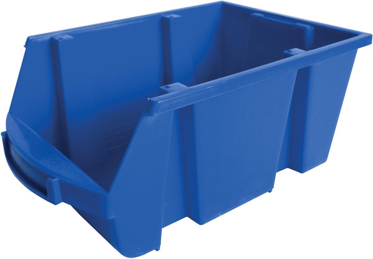 Viso magazijnbak 10 liter, blauw