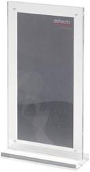 Deflecto folderhouder met T-voet, ft 1/3 A4