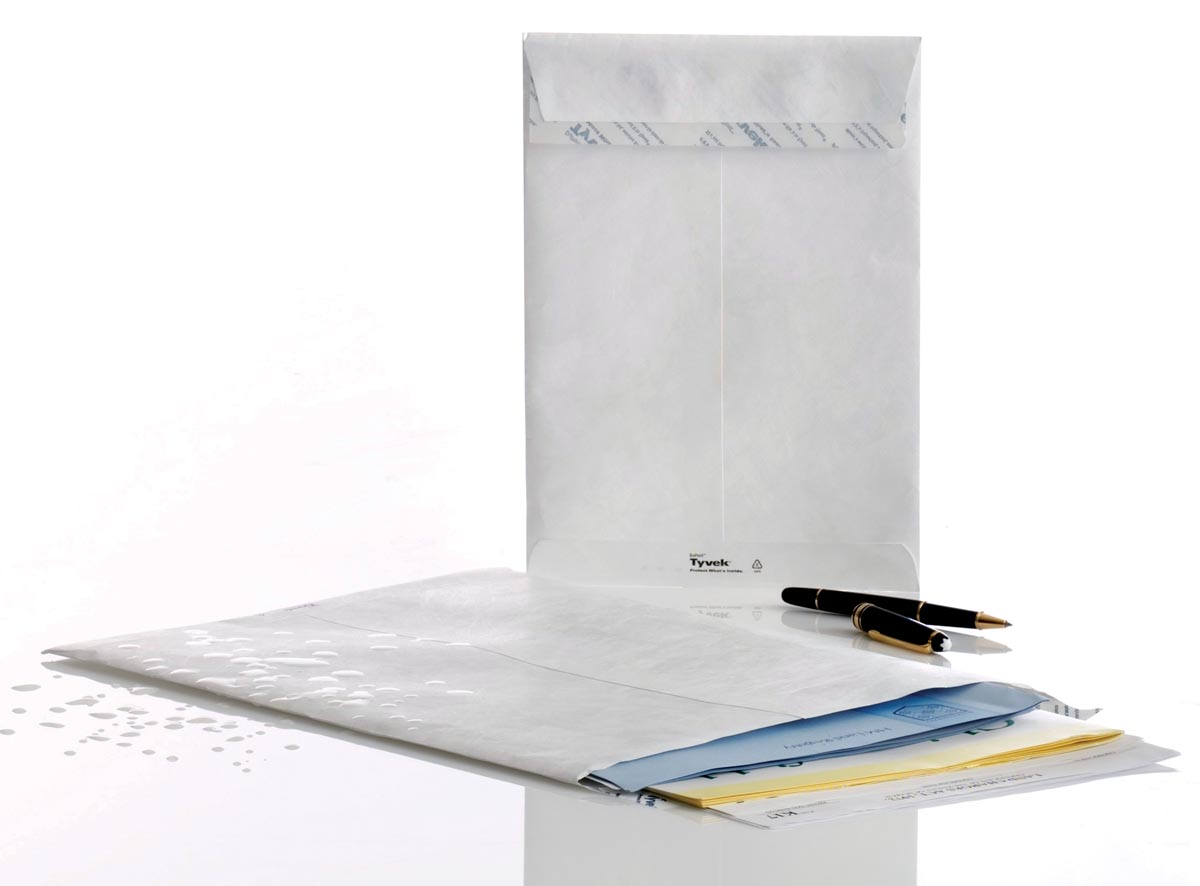 Enveloppen Tyvek ft 229 x 324 mm (C4), doos van 100 stuks
