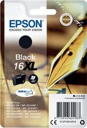 Epson inktcartridge 16XL zwart, 500 pagina's - OEM: C13T16314012