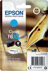 Epson inktcartridge 16XL cyaan, 450 pagina's - OEM: C13T16324012