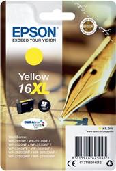 Epson inktcartridge 16XL geel, 450 pagina's - OEM: C13T16344012
