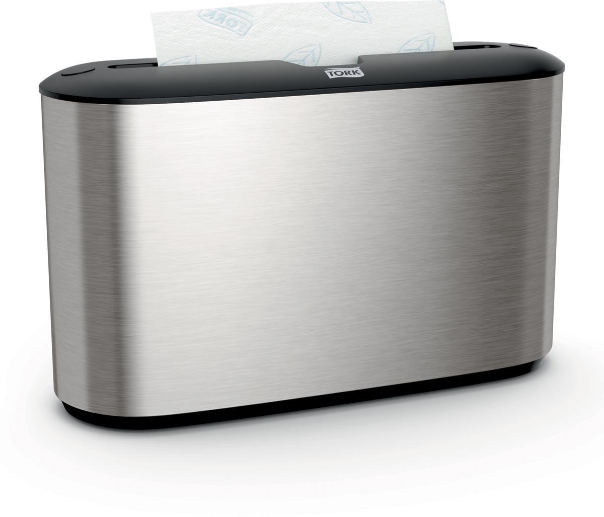 Tork Xpress handdoekdispenser multifold, countertop, systeem H2, inox