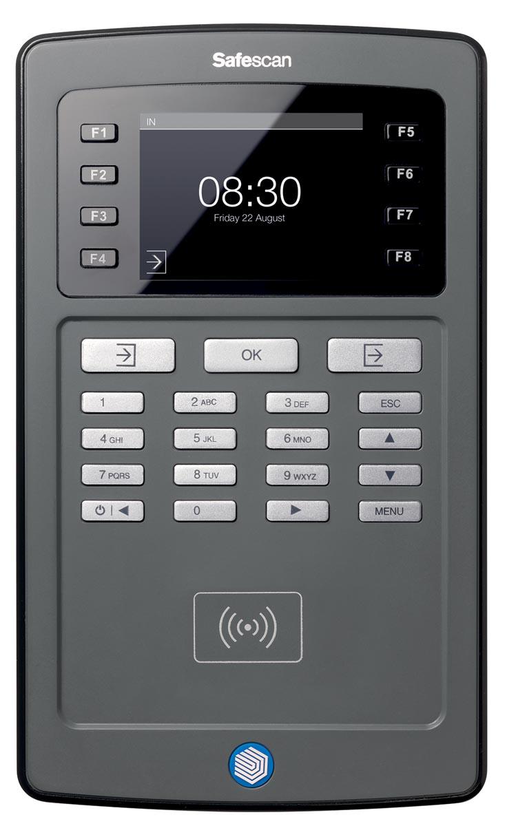Safescan tijdsregistratiesysteem TA8010