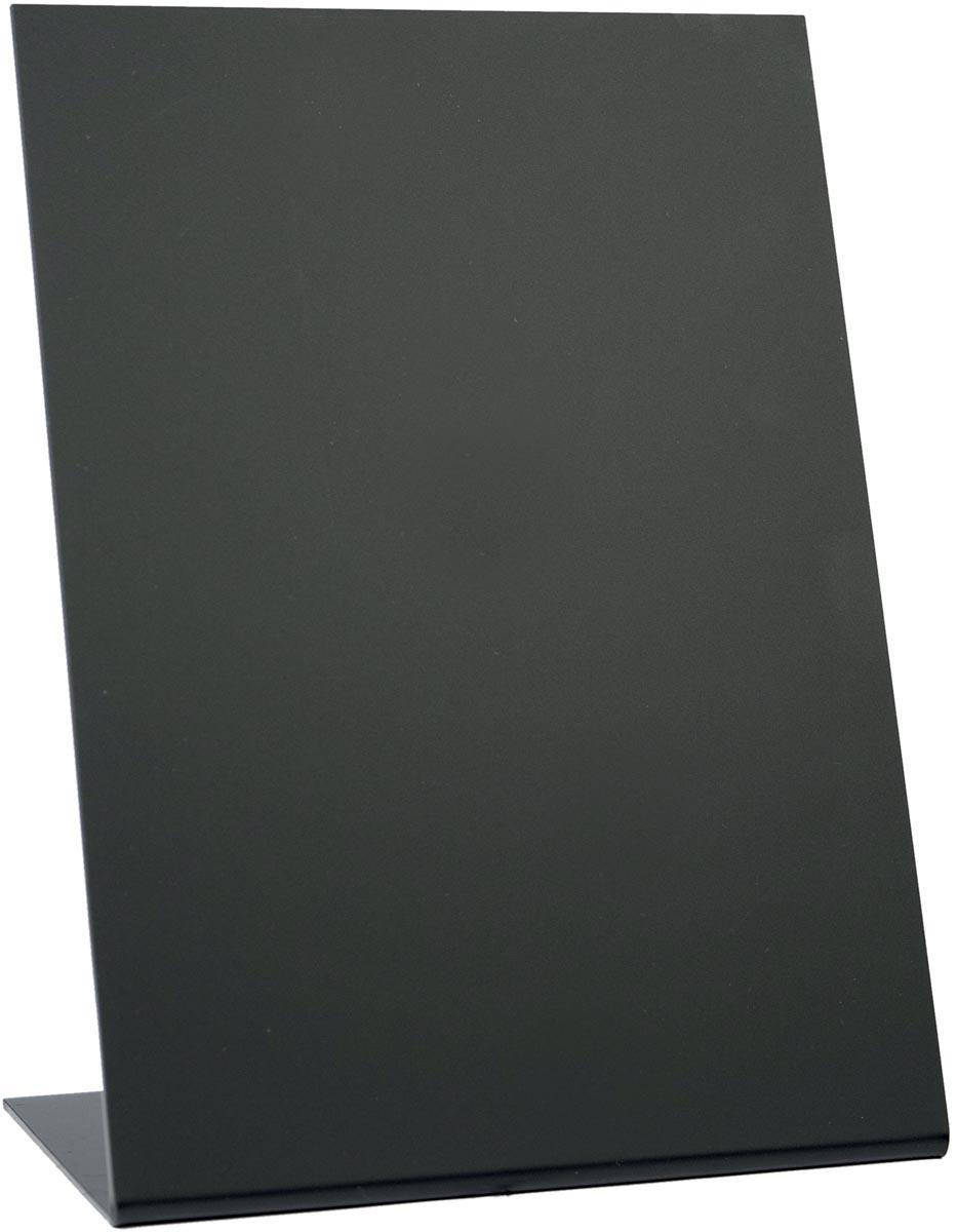 Securit tafelkrijtbord L-vorm ft A5, pak met 3 stuks