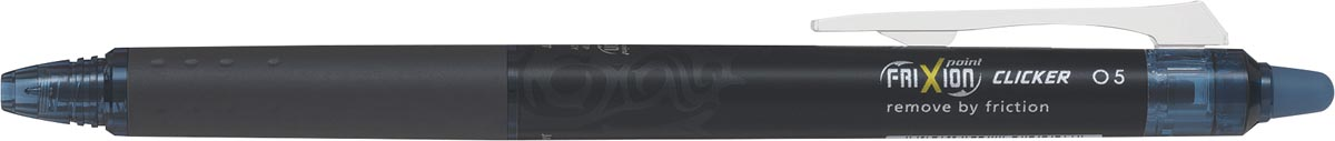 Pilot intrekbare roller FriXion Point Clicker 05, fijne punt, donkerblauw