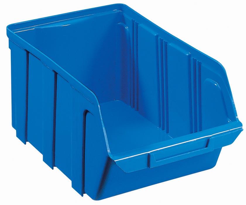 Viso Magazijnbak TEKNI2b PP 160 x 100 x 70 mm Blauw Stuks