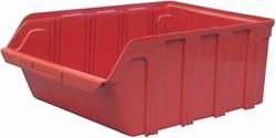 Viso magazijnbak 28 liter, rood