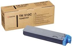 Kyocera Toner Kit cyaan TK510C - 8000 pagina's - 1T02F3CEU0