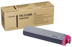 Kyocera Toner Kit magenta TK510M - 8000 pagina's - 1T02F3BEU0