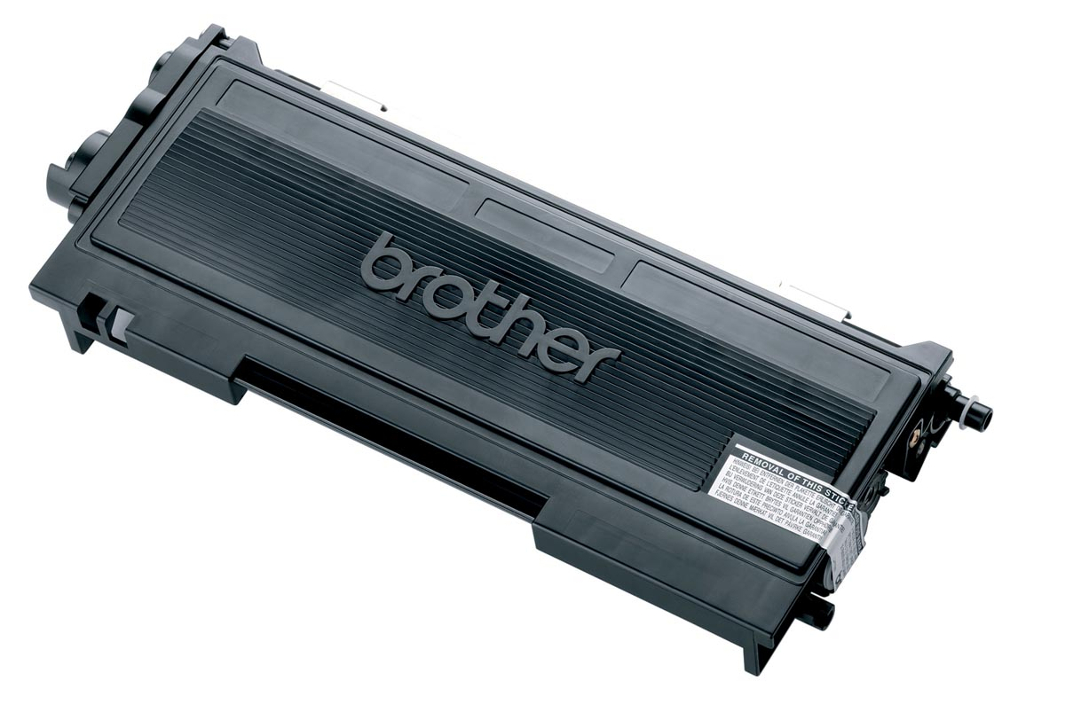 Brother toner, 2.500 pagina's, OEM TN-2000, zwart