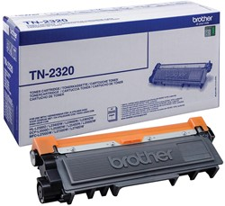 Brother Toner zwart - 2600 pagina's - TN2320