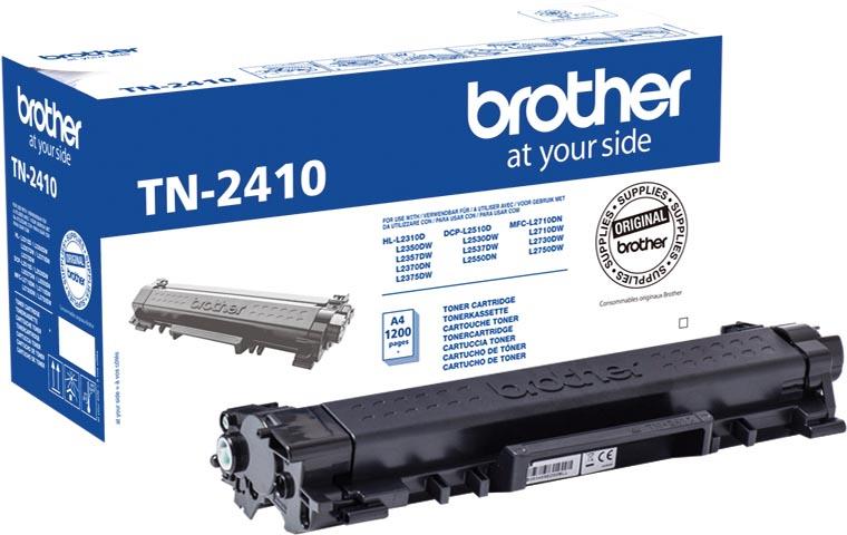 Brother toner, 1.400 pagina's, OEM TN-2410, zwart