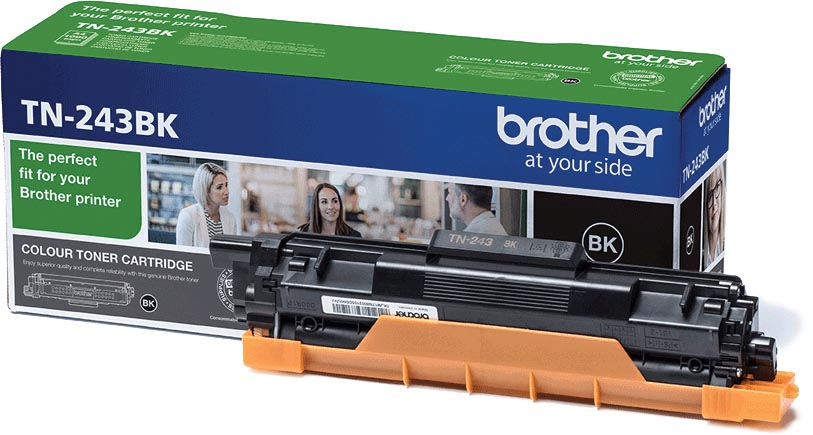 Brother toner, 1.000 pagina's, OEM TN-243BK, zwart
