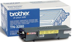 Brother Toner Kit - 8000 pagina's - TN3280