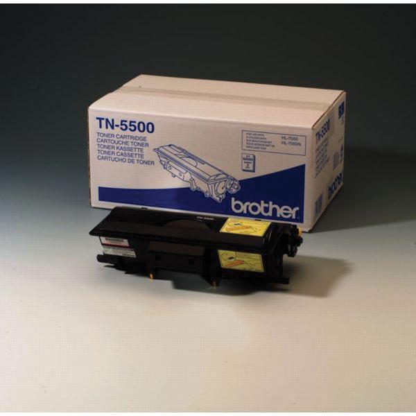 Brother toner, 12.000 pagina's, OEM TN-5500, zwart