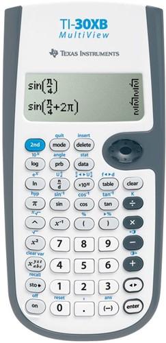 Texas wetenschappelijke rekenmachine TI-30XB Multiview teacher pack: 30 stuks