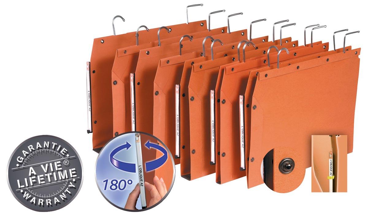 L'Oblique hangmappen voor kasten TUB ft 330 x 250 mm, bodem 50 mm