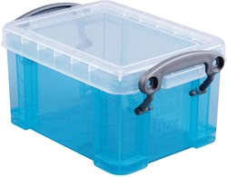 Really Useful Box 0,3 liter visitekaarthouder, helblauw