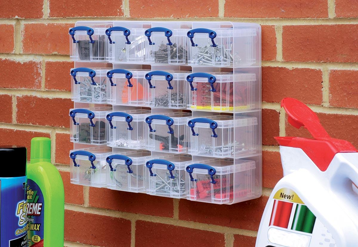 Really Useful Boxes Archiefboxen Transparant Plastic Met 16 dozen 37 5 x 31 x 12 5 cm 16 Stuks