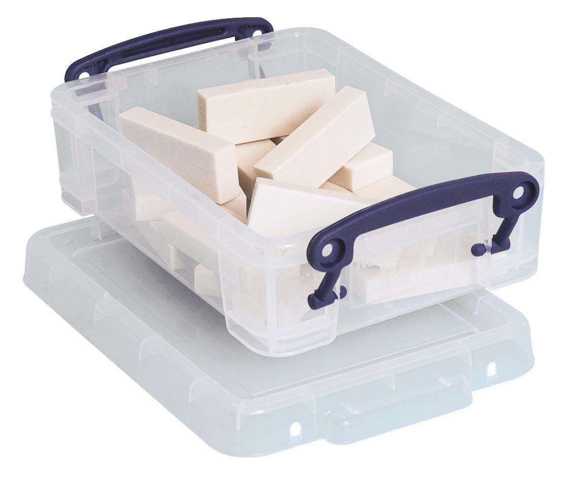 Really Useful Box 0,75 liter, transparant