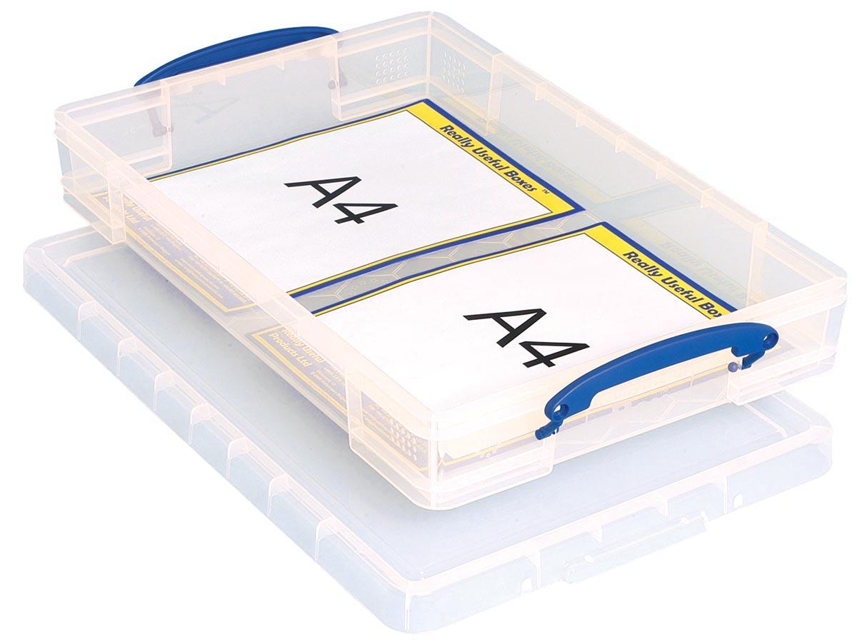 Really Useful Box opbergdoos 10 liter, transparant