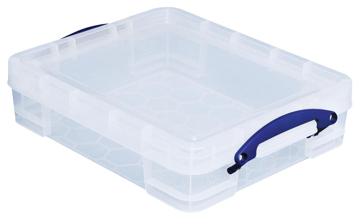 Really useful boxes transparante opbergdoos 11 l, buitenft 456 x 356 x 120 mm