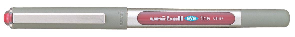 Uni-ball roller Eye Fine en Micro Fine, schrijfbreedte 0,5 mm, punt 0,7 mm, bordeaux