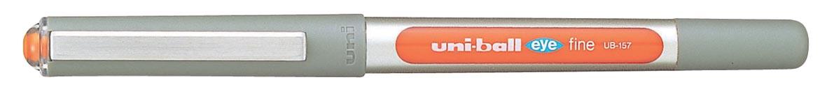 Uni-ball roller Eye Fine en Micro Fine, schrijfbreedte 0,5 mm, punt 0,7 mm, oranje