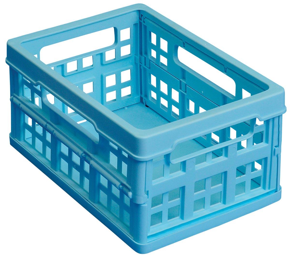 Really Useful Box plooibox 1,7 liter, lichtblauw