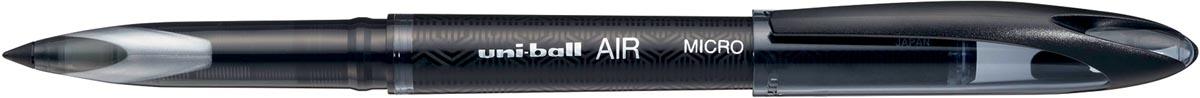 Uni-ball liquid ink roller Micro Air, zwart