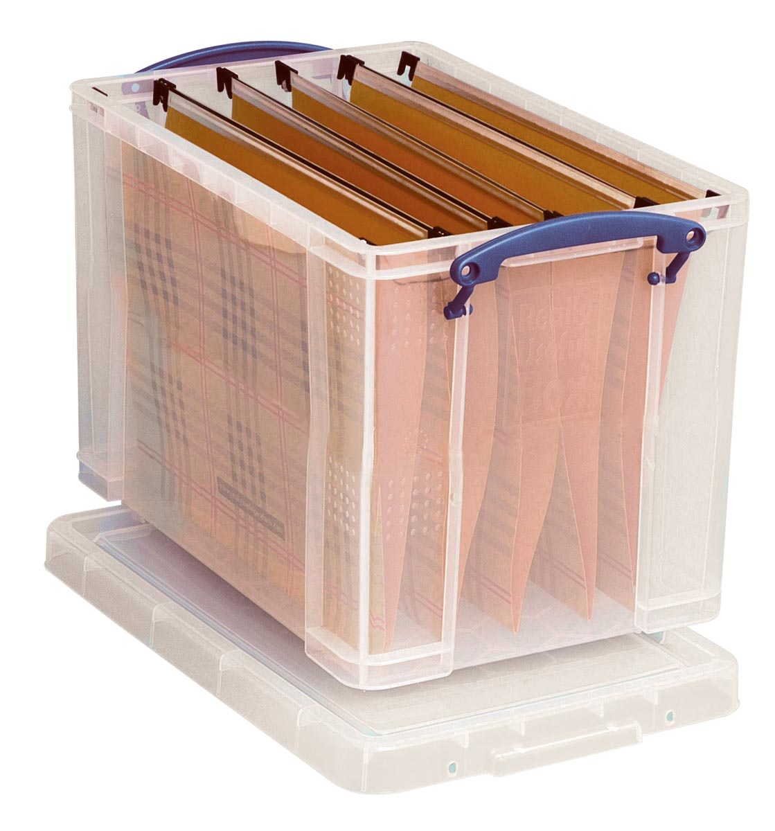Really Useful Boxes Archiefboxen A4 Transparant Plastic met deksel 39 5 x 25 5 x 29 cm Stuks