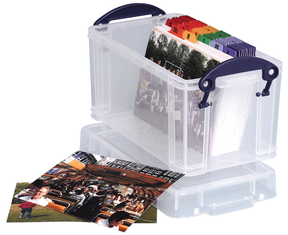 Really Useful Box opbergdoos 2,1 liter, transparant