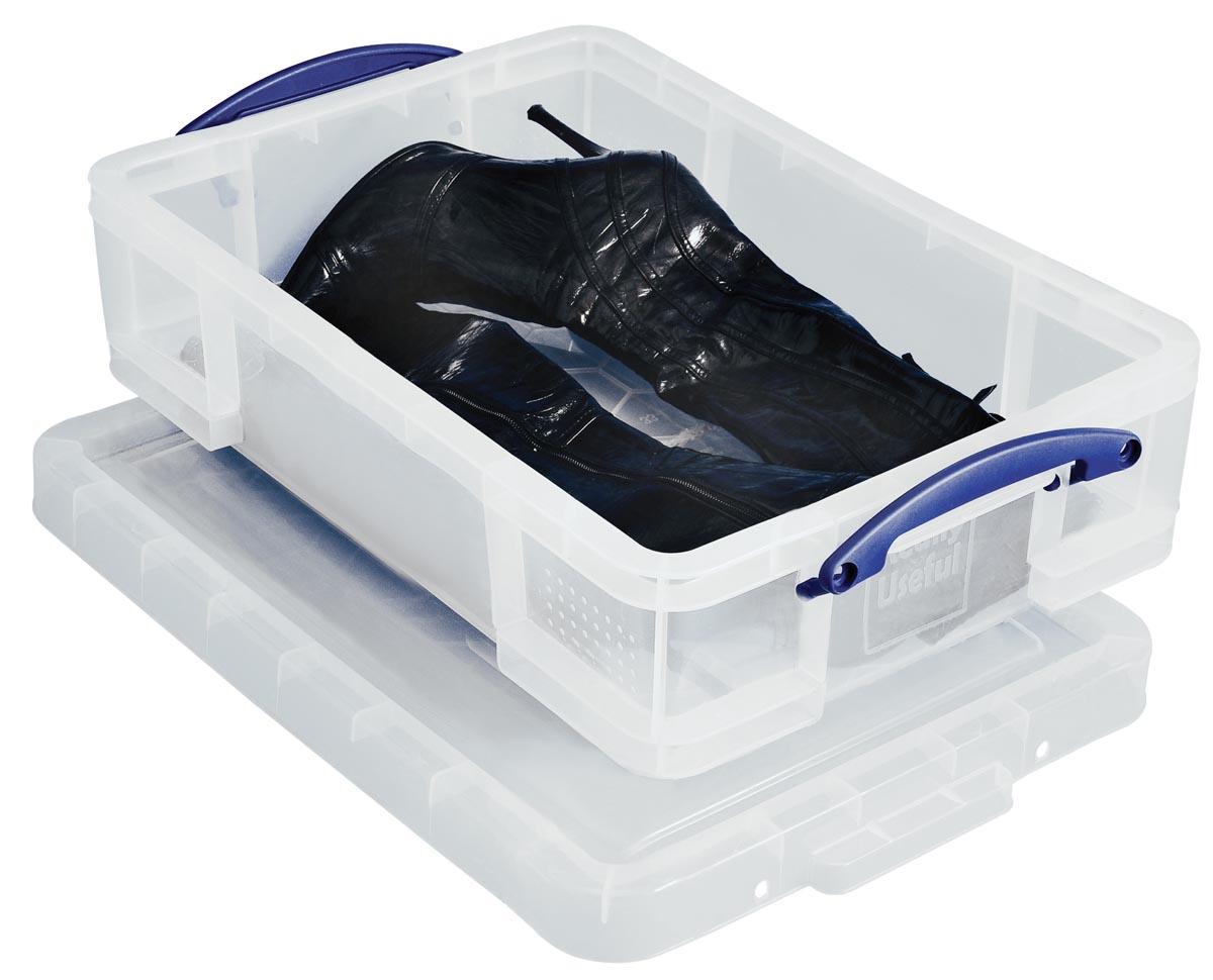 Really Useful Box opbergdoos 24,5 liter, transparant