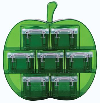 Really Useful Box Groene Appelvorm Met 7 X 014 Litertransparant Groen kopen