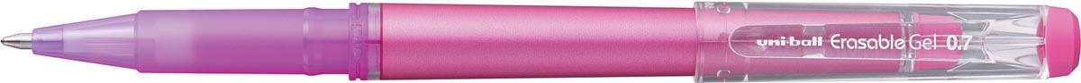 Uni-ball gelroller Erasable Gel, met dop, roze
