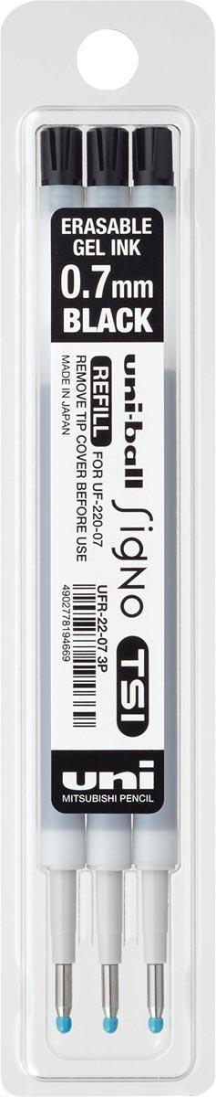 Uniball vulling voor gelroller signo tsi, zwart