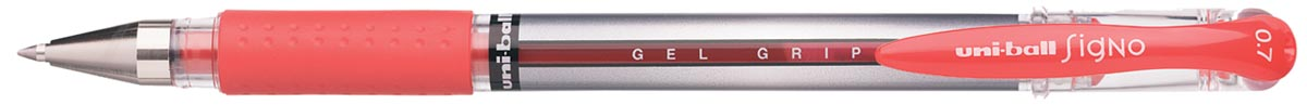 Uni roller Signo Gel Grip rood