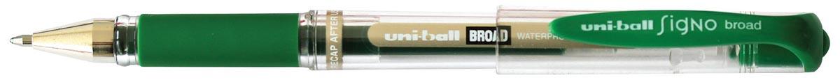 Uniball roller Signo Broad, 0,65 mm, groen