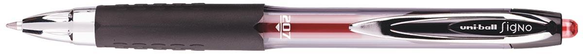 Uni-ball intrekbare roller Signo RT207 rood