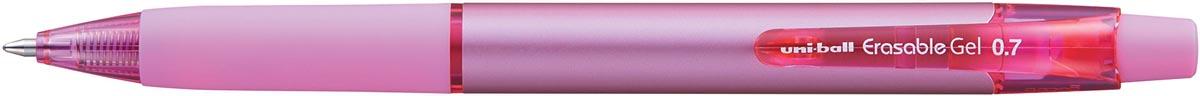 Uni-ball gelroller Erasable Gel, intrekbaar, roze