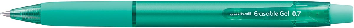 Uni-ball gelroller Erasable Gel, intrekbaar, groen